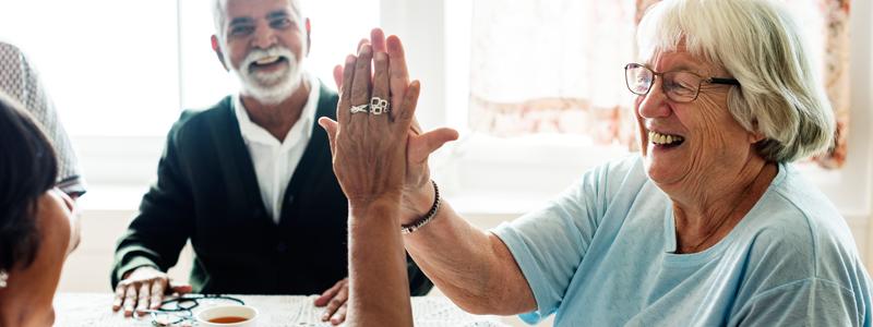 rela'c~oes sociais para o bem envelhecer