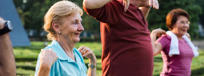 coaching para o envelhecimento